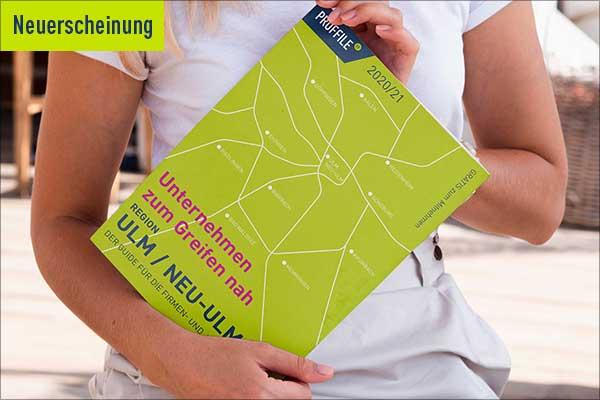 Neuerscheinung PROFFILE Firmenguide Ulm/Neu-Ulm 2020/21