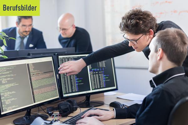 Interview Headerbild zum Berufsbild Softwareentwickler und Teamleiter