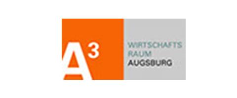 Logo Wirtschaftsraum Augsburg A³