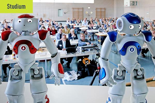 Interview Headerbild zum Studium Robotik