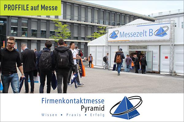 PROFFILE auf der Firmenkontaktmesse Pyramid 2020
