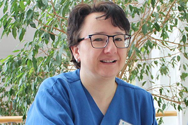 Ursula Röder, Pflegedirektorin bei der Sana Klinik Bethesda Stuttgart