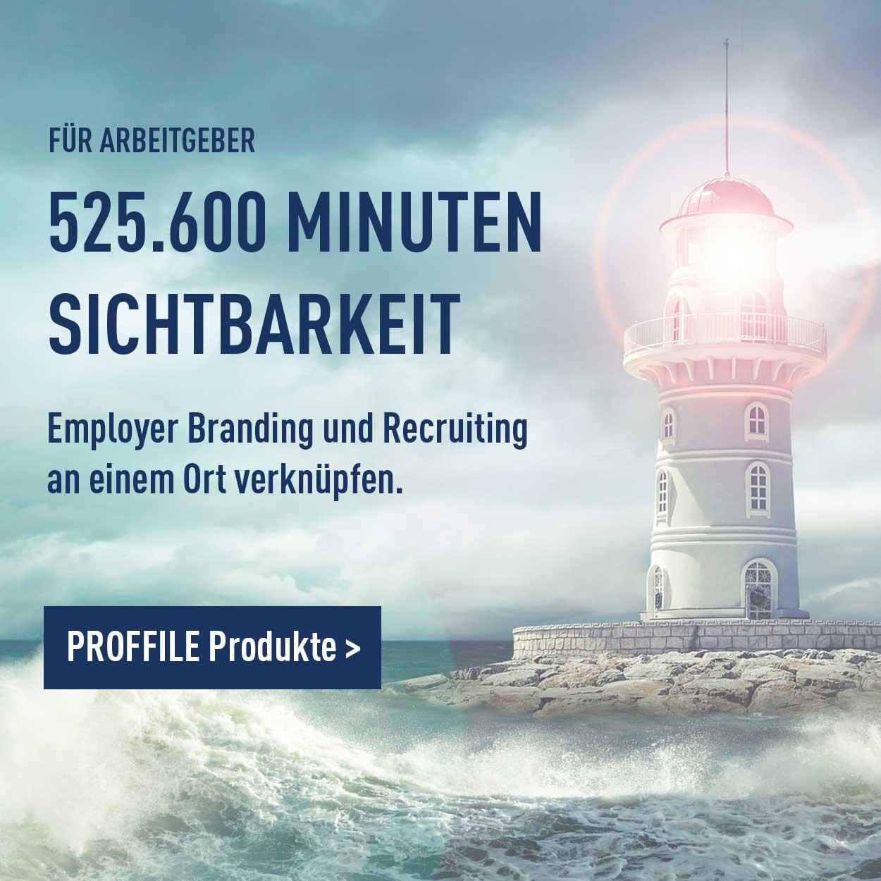 Leuchtturm für mehr sichtbarkeit mit Employer Branding und Recruiting