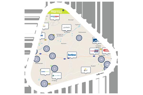 PROFFILE Maps Karte