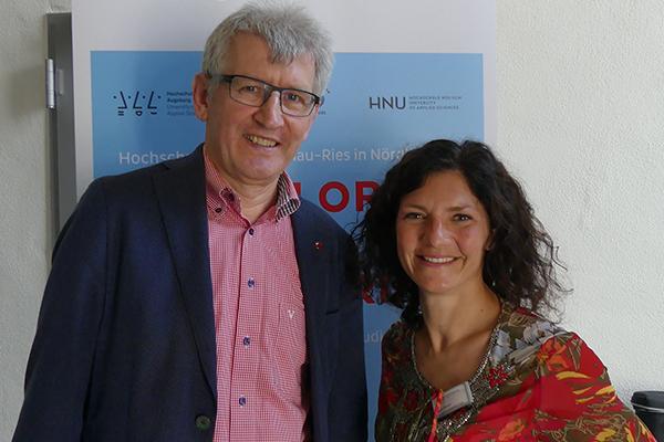 Prof. Dr. Nik Klever und Doris Rieder über den dualen Teilzeit-Bachelorstudiengang Systems Engineering
