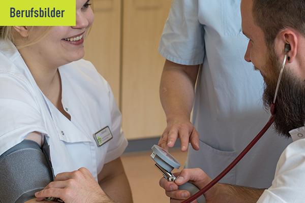 Interview Headerbild zum Berufsbild Pflegefachmann mit der generalistischen Pflegeausbildung
