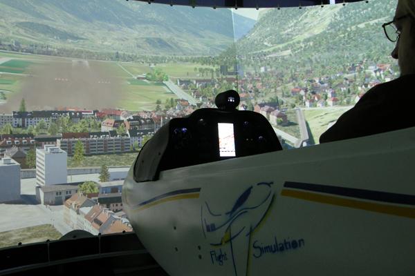Interview Hochschule München Flugsimulator