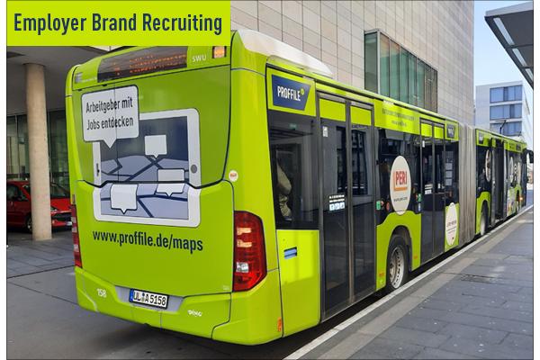 PROFFILE Bus für die Region Ulm - Employer Brand Recruitingg