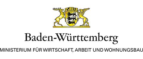 Logo Ministerium für Arbeit und Wirtschaft Stuttgart