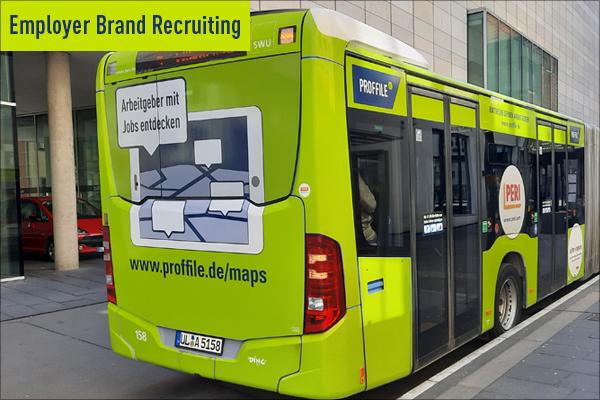 PROFFILE Bus in Ulm fährt im neuen Design 2020