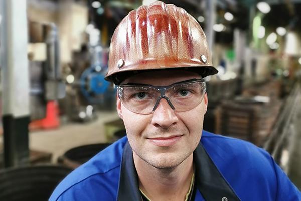 Daniel Arenz über den Beruf des Gießereimechanikers
