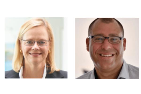 Ingrid Marold und Harald Huber