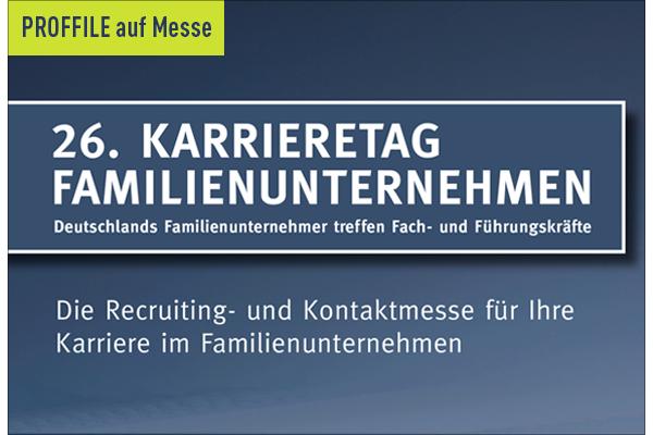 PROFFILE auf dem 26. Karrieretag Familienunternehmen in Kaufering