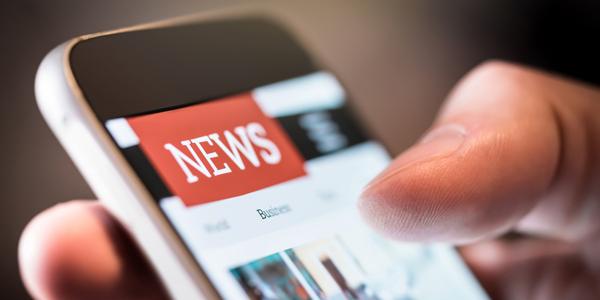 Handy mit aktuellen News