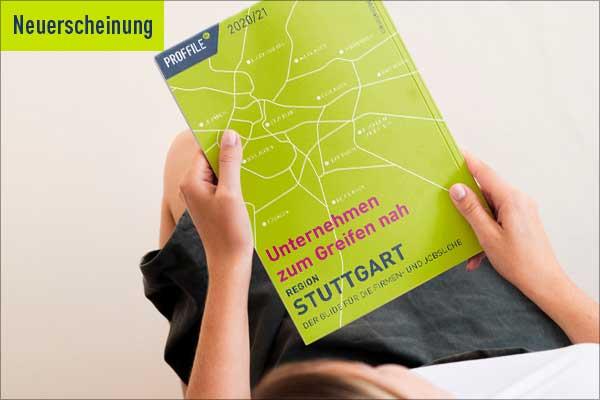Neuerscheinung PROFFILE Firmenguide Stuttgart 2020/21