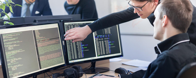 Interview über den Beruf Softwareentwickler