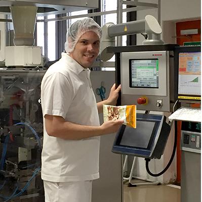 Andreas Hirth über die Ausbildung zur Fachkraft für Lebensmitteltechnik