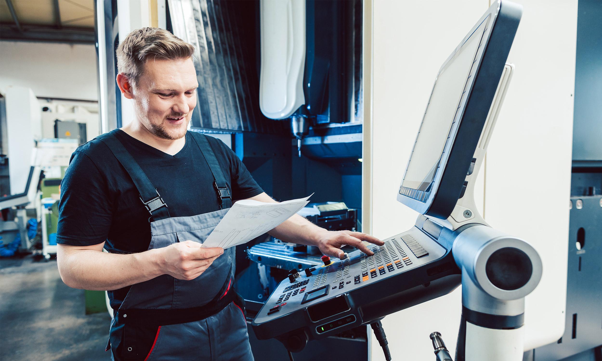 Maschinenbediener bei Burgmaier in Allmendingen