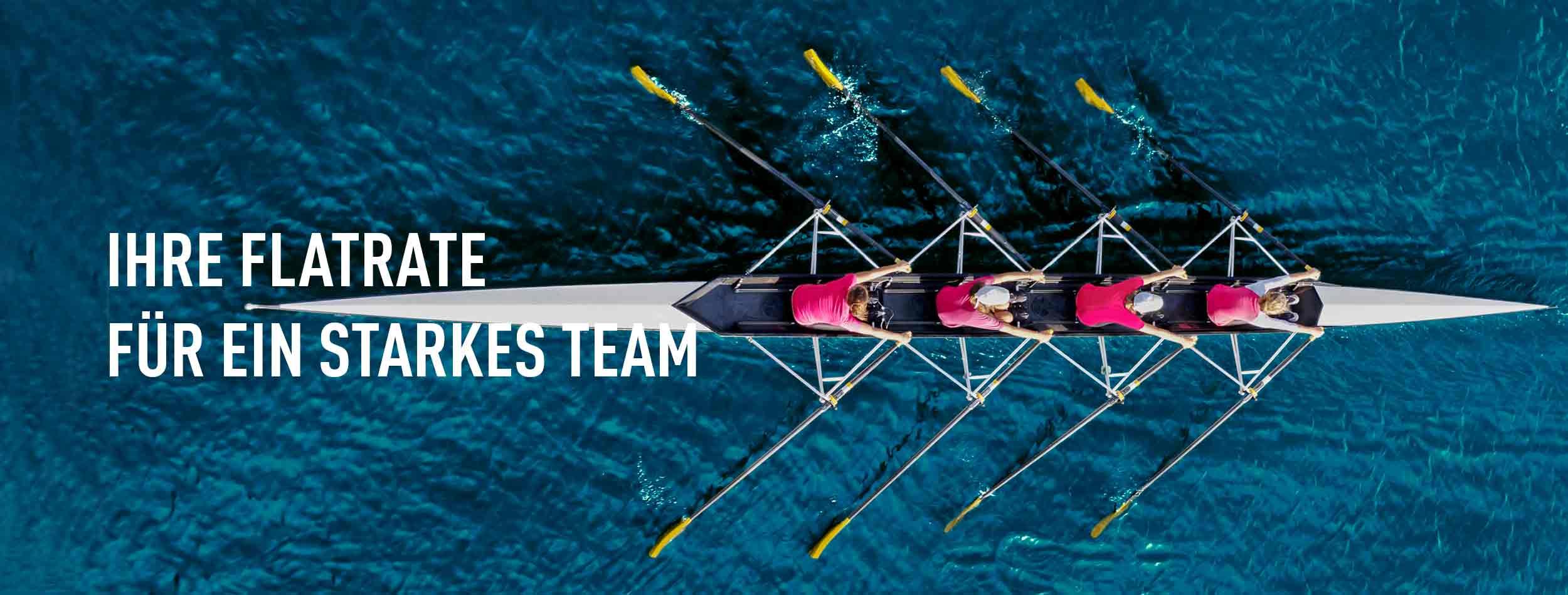 Ein starkes Team das gemeinsam rudert: Arbeitgeberpräsenz und Stellenschaltung