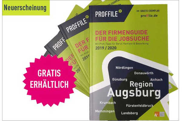 PROFFILE Firmenguide Augsburg Neuerscheinung
