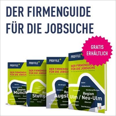 PROFFILE Firmenguide für Stuttgart, Ulm, Augsburg, München