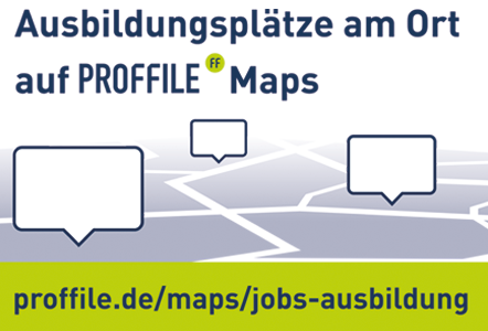 PROFFILE Maps Ausbilungsplätze