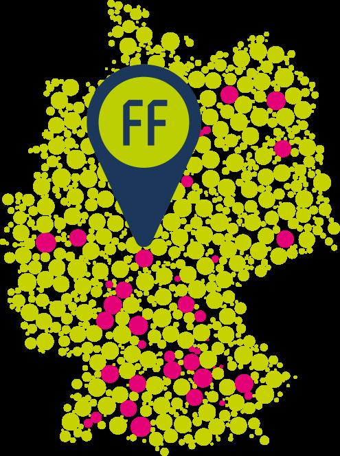 Mockup Kartenansicht von PROFFILE Maps