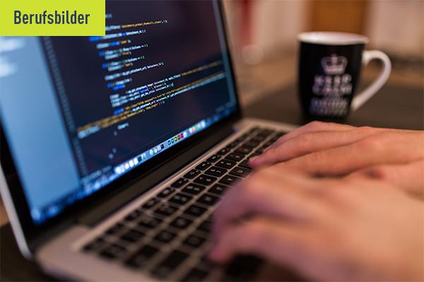 Interview Headerbild zum Berufsbild Fachinformatiker für Anwendungsentwicklung