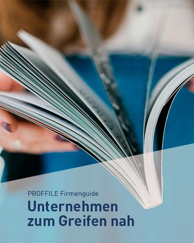 Der regionale PROFFILE Firmenguige für die Jobsuche in der Region Ulm, Stuttgart, Augsburg