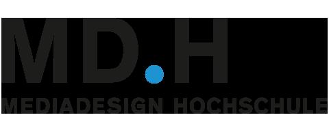 Logo Mediadesign Hochschule München
