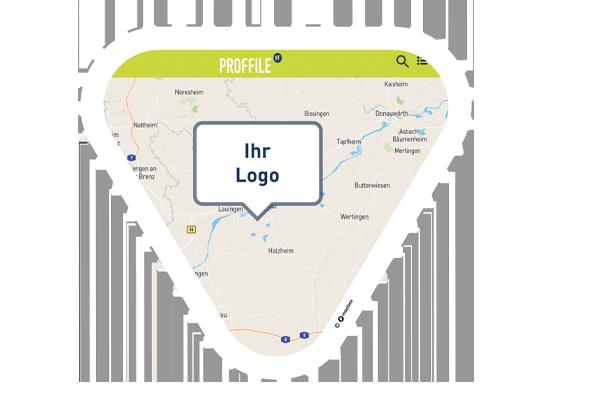 PROFFILE Maps Icon Visuell key