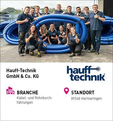 Unternehmensprofil Hauff-Technik GmbH & Co. KG