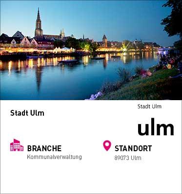 Unternehmensprofil Stadt Ulm